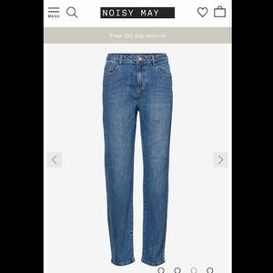 Noisy May straight fit jeans